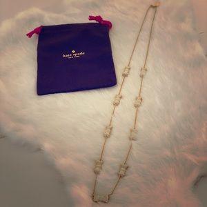 Kate Spade bows necklace